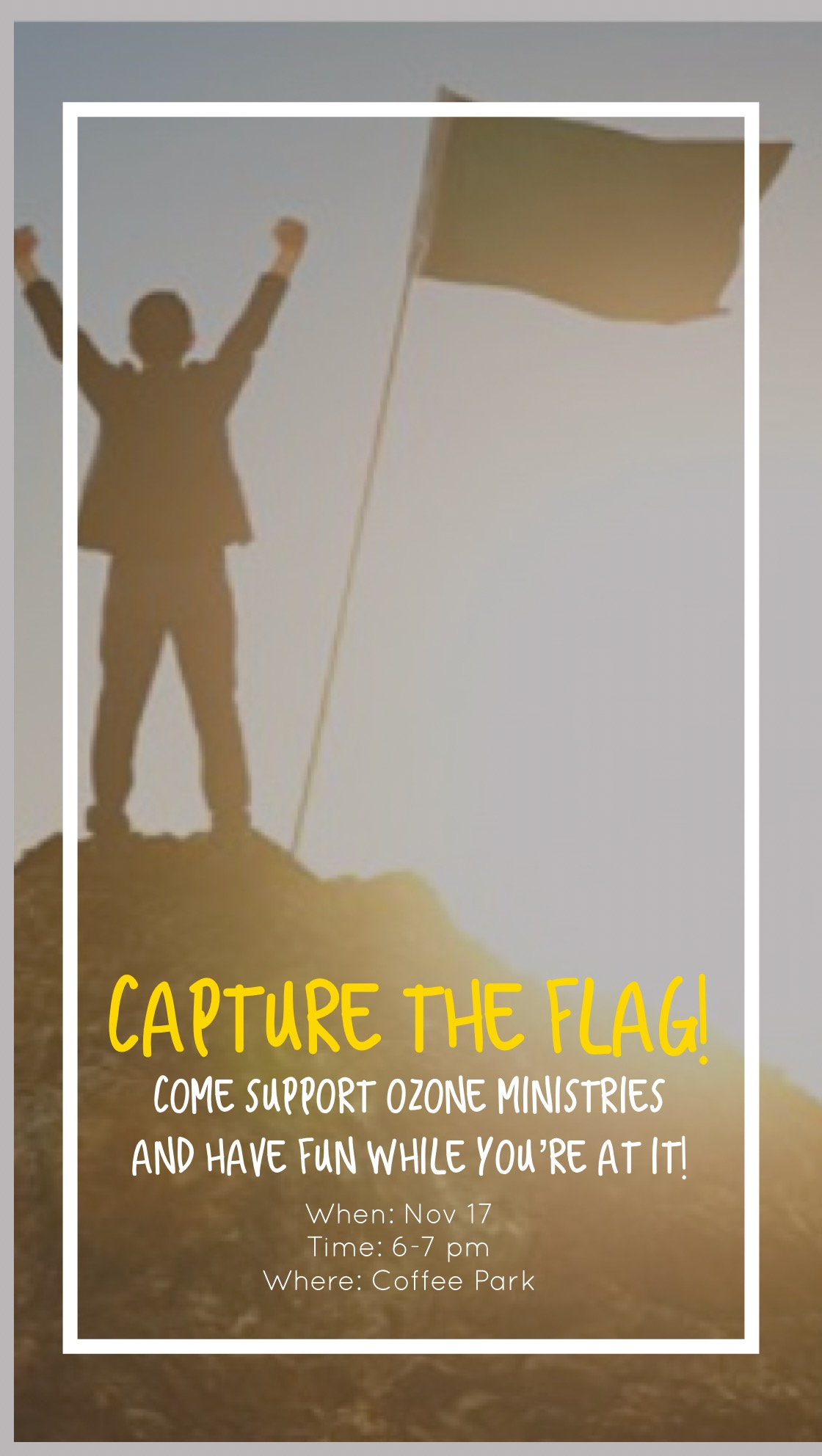 Dallas Ozone Capture the Flag