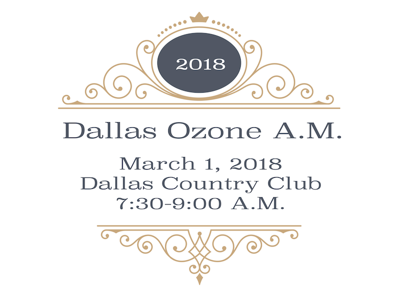 DALLAS OZONE FUNDRAISING BREAKFAST